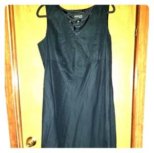 16W black Syle&Co long dress